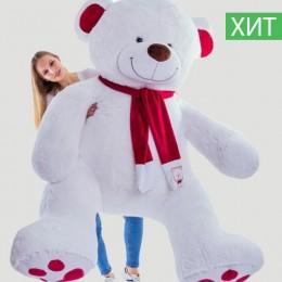 Плюшевый медведь белый 250 см