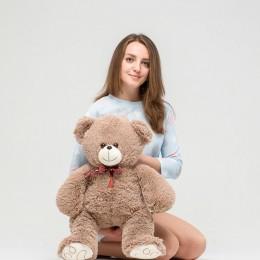 Плюшевый медведь бурый 70 см