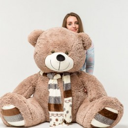 Плюшевый медведь бурый 180 см