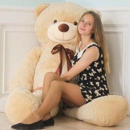 Плюшевый медведь 210см