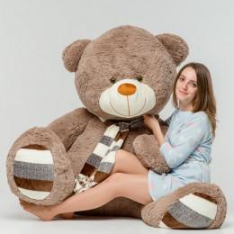 Плюшевый медведь бурый 230 см