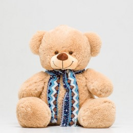 Плюшевый медведь кофейный 100 см